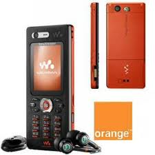 walkman orange